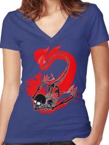Mermaid v2.o Women's Fitted V-Neck T-Shirt