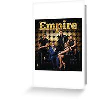 Empire cast Greeting Card