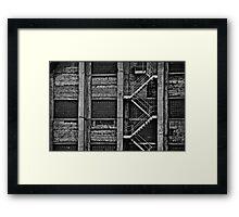 MY DEATH Framed Print