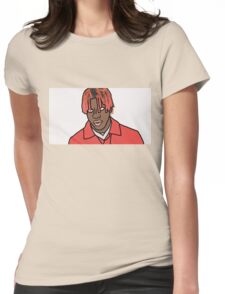 Lil Yachty Cartoon Womens Fitted T-Shirt