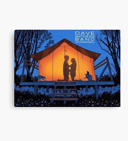 Dave Matthews Band, Klipsch Music Center Noblesville IN Canvas Print