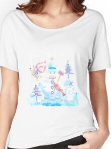 Freezy Winterland Women's Relaxed Fit T-Shirt