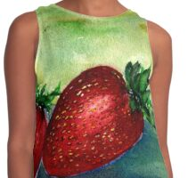 Strawberry Thoughts Contrast Tank