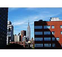 The Empire State Building. Photographic Print