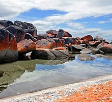 Bay of Fires - Tasmania by Jessica Fittock
