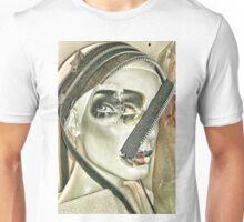 Punk collage woman 3 Unisex T-Shirt