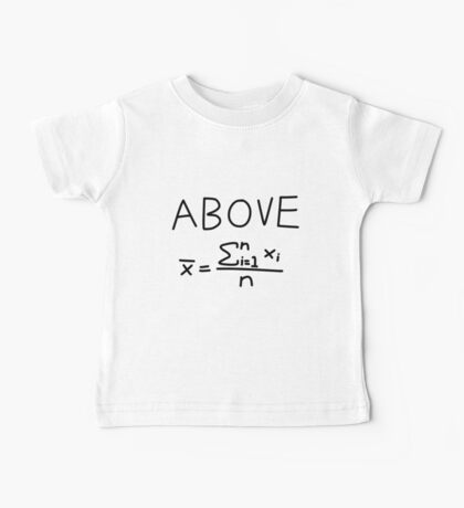 Above Average Baby Tee