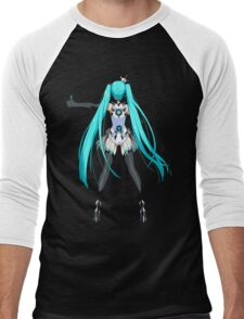 Hatsune Miku Men's Baseball ¾ T-Shirt