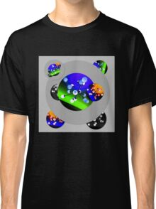 Fun with Planets, Spheres, Globes in Space Classic T-Shirt