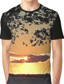 Sunset on Summerside Graphic T-Shirt