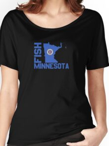 Fish Minnesota Women's Relaxed Fit T-Shirt