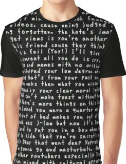 Danisnotonfire Diss Track Graphic T-Shirt