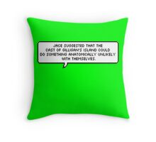 Jace Wayland Quote - The Mortal Instruments Throw Pillow