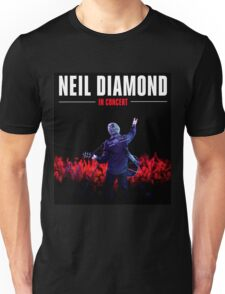 NEIL DIAMOND LIVE TELUR Unisex T-Shirt