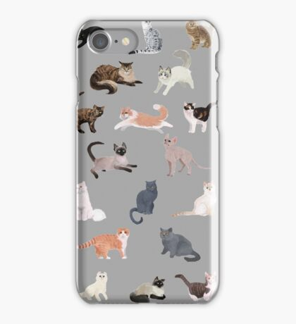 Many Meows iPhone Case/Skin