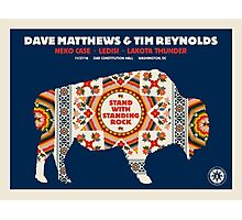 Dave Matthews & TIM Reynolds, Neko Case Ledisi Lakota Thunder DAR Constitution Hall Washington DC Photographic Print