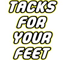 Tacks For Your Feet - Lego Parody Photographic Print