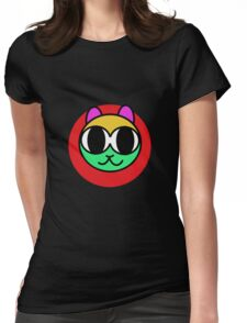 Just A cat Womens Fitted T-Shirt