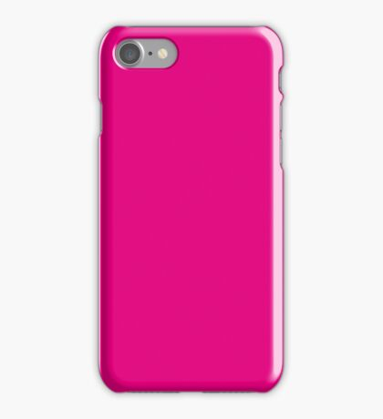 Hot Pink | Solid Color iPhone Case/Skin