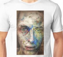Mannequin painted bravura style Unisex T-Shirt