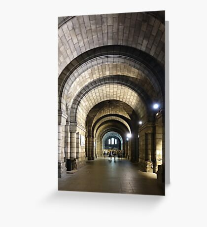 Underground Passage - Sacré Cœur Greeting Card