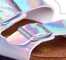 Holographic Birkenstocks Sticker