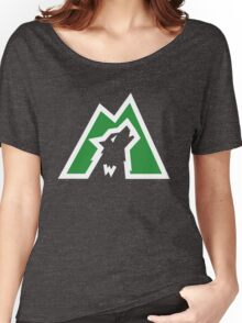Wolves white & green Women's Relaxed Fit T-Shirt