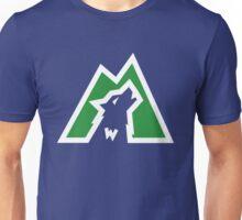 Wolves white & green Unisex T-Shirt