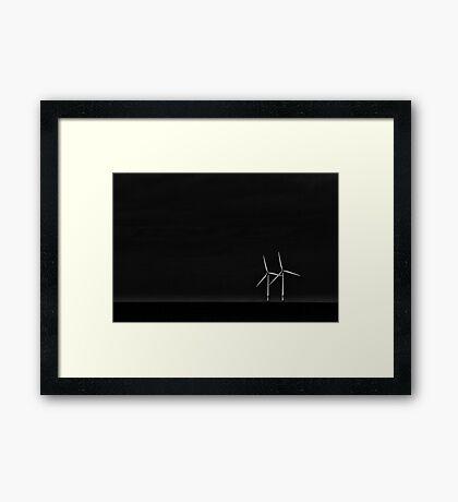 WIND WALTZ Framed Print