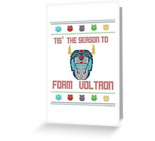 A Very Voltron Christmas Greeting Card