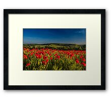 Not My View From Work Framed Print