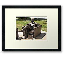 Dr. Bob Framed Print