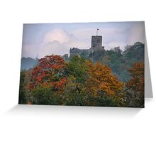 Lahneck Castle at Lahnsatein Greeting Card