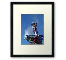 Mickey at the Disneyland Parade Framed Print