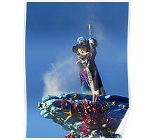 Mickey at the Disneyland Parade Poster