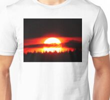 Sun in the Trees and Clouds Unisex T-Shirt