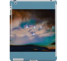 Bird on a wire iPad Case/Skin