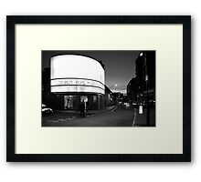 Cornerhouse and Whitworth Street West, Manchester Framed Print