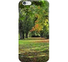 West End Park in Alloa iPhone Case/Skin