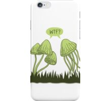 WTF? iPhone Case/Skin