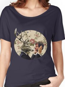 Wendigo Floral Insignia Women's Relaxed Fit T-Shirt
