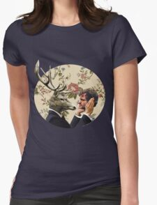 Wendigo Floral Insignia Womens Fitted T-Shirt