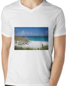 A Pretty Beach on The Gulf Of Mexico !!! Mens V-Neck T-Shirt