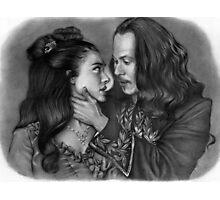 'Mina & Dracula' Photographic Print