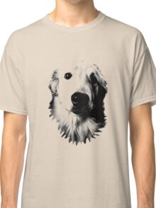Who Me? Funny Dog Expressions. Golden Retriever Images. Classic T-Shirt