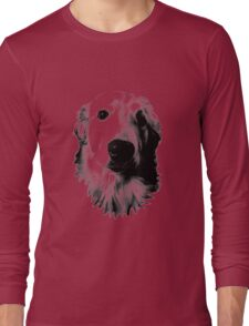 Who Me? Funny Dog Expressions. Golden Retriever Images. Long Sleeve T-Shirt