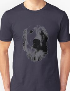 Who Me? Funny Dog Expressions. Golden Retriever Images. T-Shirt
