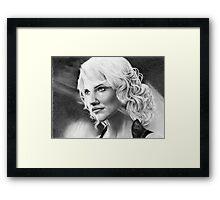 'Caprica 6' Battlestar Galactica Framed Print