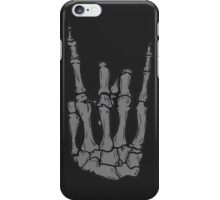 Skeleton hand | Black iPhone Case/Skin