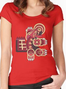 Ancient Legend - Primal Earth Women's Fitted Scoop T-Shirt